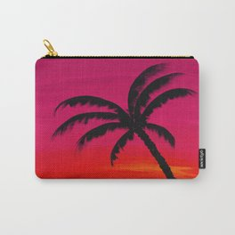 Sunset Palm 2 Carry-All Pouch