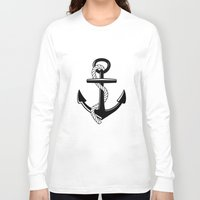 anchor Long Sleeve T-shirts featuring Anchor by Urlaub Photography