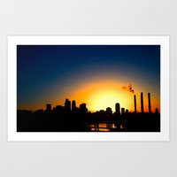 minneapolis Art Prints featuring Minneapolis. by Last Triumph