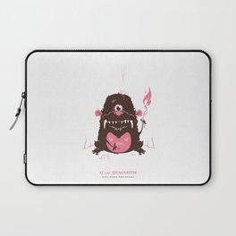 Q is for Quaggoth Laptop Sleeve
