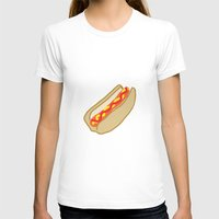 hot dog T-shirts featuring Hot Dog by Andrew Lynne