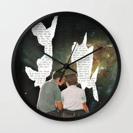 The Written Word Wall Clock