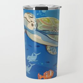 Under the Sea and Above the Coral Travel Mug