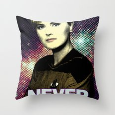 Never Forget Tasha Throw Pillow