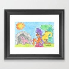 Faerie Knight Framed Art Print