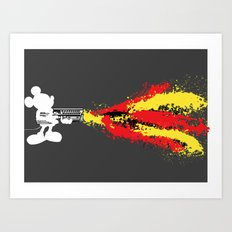 Blast'em! Art Print