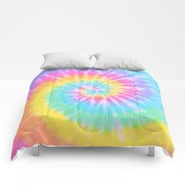 Rainbow Tie Dye Comforters