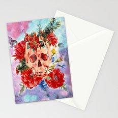 Skull Pattern Stationery Cards