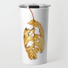Every leaf has a story to tell Travel Mug
