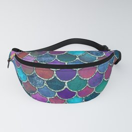 Colorful Mermaid Scales Fanny Pack