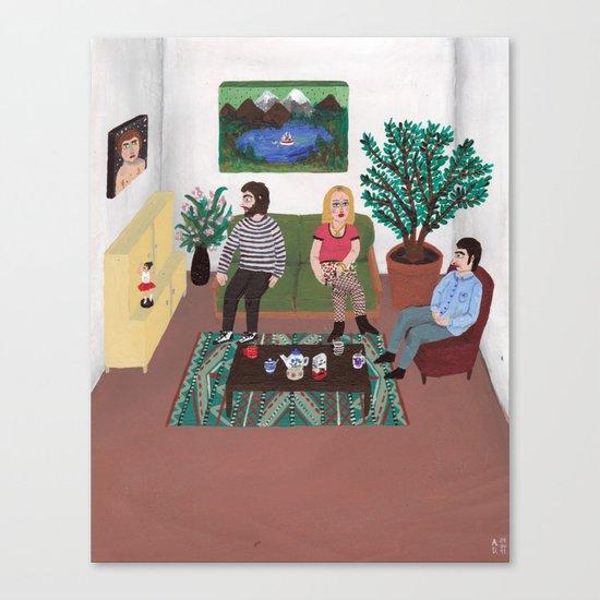 The Callgirl Canvas Print