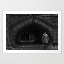 Tunnelity Art Print
