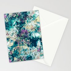 Frozen Flowers Stationery Cards