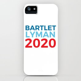 Jed Bartlet Josh Lyman 2020 / The West Wing iPhone Case
