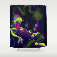 "fullmetal alchemist Shower Curtains featuring The ""Young"" Alchemist by Rachel Charleene Smith"