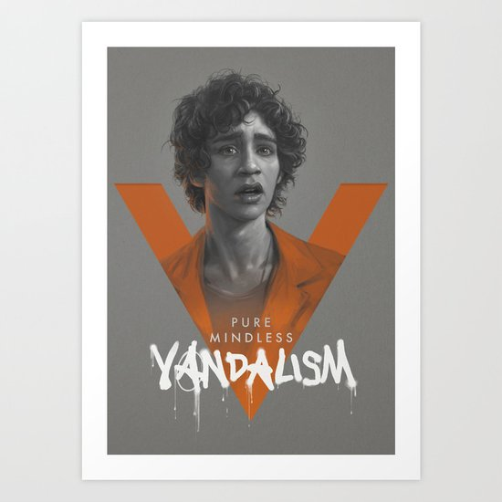 Pure Mindless Vandalism Art Print