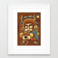 instagram Framed Art Prints featuring Instagram by anggatantama