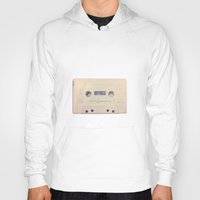 cassette Hoodies featuring vintage cassette by AntWoman
