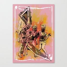 Silent Thrill Canvas Print