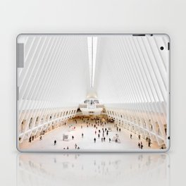 The Oculus at the World Trade Center | Calatrava #architecture #society6 Laptop & iPad Skin