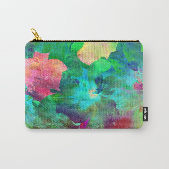 Hibiscus Dream #4 Carry-All Pouch