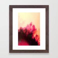 Painted Clouds II Framed Art Print