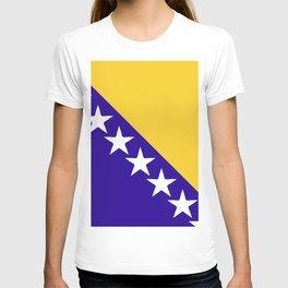 Bosnia and Herzegovina flag emblem T-shirt