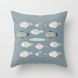 Fishky Throw Pillow