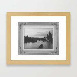 Moskva River Framed Art Print