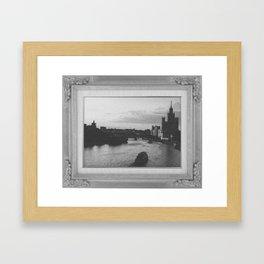 Moskva River Framed Art Print