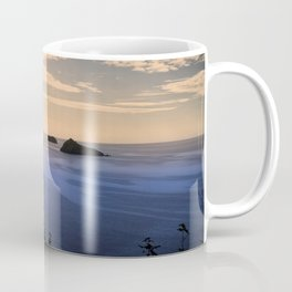 Thatchers Rock and Hope's Nose At Sunset Coffee Mug