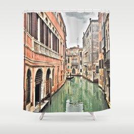 venezia_canale Shower Curtain