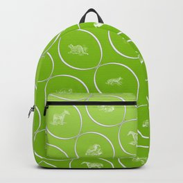 Abstract pattern with animal shapes Backpack