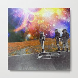 Is There Something Out There? Metal Print