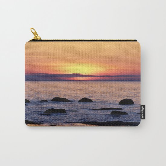 Summer's Glow and the Circle of Rocks Carry-All Pouch