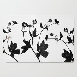 Ranunculus Aconitifolius Cutting Board