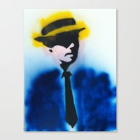 suits Canvas Prints featuring SUITS by Clay Bakkum