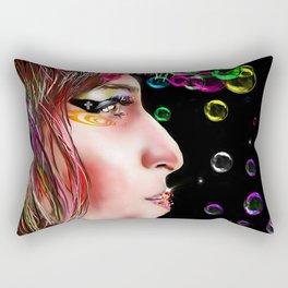 Amy Painting Rectangular Pillow