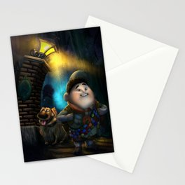 R&D's Haunted Adventures by Topher Adam Stationery Cards