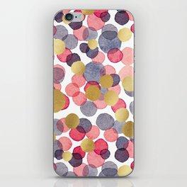 Gold Spots Confetti iPhone Skin