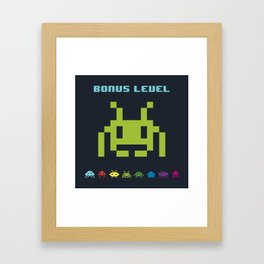 Space Invader VI Framed Art Print