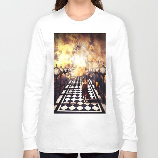 Walking through time Long Sleeve T-shirt