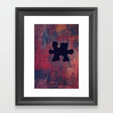 I am Complete with You Framed Art Print