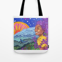 Day to Night Tote Bag