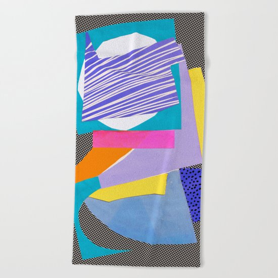 Magnetic content Beach Towel