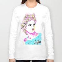goddess Long Sleeve T-shirts featuring goddess by Iris & Ino