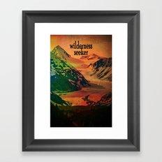 Wilderness Seeker Framed Art Print
