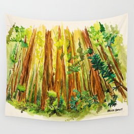 Redwood National Park Wall Tapestry