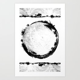 Coachella Valley Desert Sphere Tee Art Print