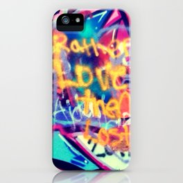 Rather Love... iPhone Case